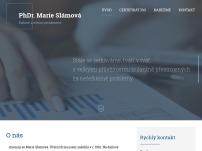 PhDr. Marie Slámová – Daňové a účetní poradenství