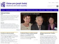 Ústav pro jazyk český AV ČR, v.v.i.