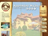 Apartmány Majka - Bodice
