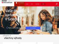 Bankomat UniCredit Bank Czech Republic pobočka Praha-Krč