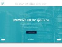UNIMONT Pacov spol. s r. o.