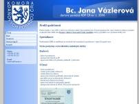 Bc. Jana Vázlerová