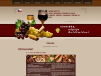 Vinotéka – nápoje Goldšmídovi
