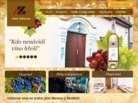 Vinný sklep Zimolka