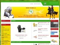 VERONIKA KUBÍKOVÁ – specializovaný obchod pro koně a jezdce