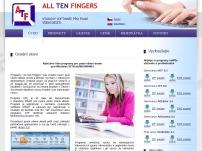 ATF- psaní všemi deseti