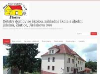 Výchovný ústav, dětský domov se školou, ZŠ, SŠ a školní jídelna Žlutice