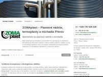 ZOMAplast – Termoplasty, plastové nádrže a míchadla