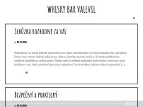 Whisky Bar Valevil