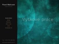 Pavel Waliczek Výškové práce