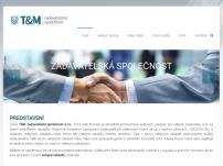 T&M zadavatelská společnost s.r.o.