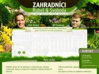 Zahradníci Rubeš & Svoboda – realizace zahrad