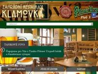 Zahradní restaurace Klamovka