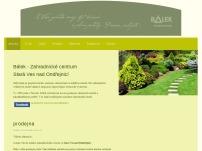 Bálek – Zahradnické centrum