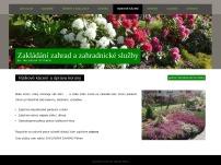 Realizace zahrad Miloslav Pittner