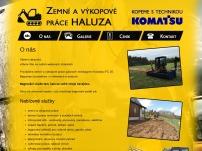Zemní a výkopové práce Haluza