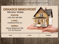 Odhady nemovitostí – Miroslav Málek