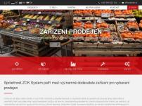 ZOK system – kompletní vybavení prodejen