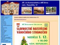 ZŠ J. A. Komenského a MŠ Brno, náměstí republiky