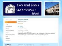 ZŠ Brno, Sekaninova