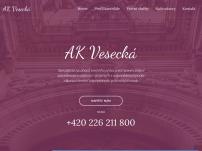 JUDr. Renata Vesecká Ph.D., advokátní kancelář