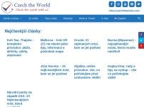 Cestovatelský web - Czech the World - rady, tipy, inspirace