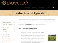 EKOVČELAŘ - rodinné včelařství v čisté přírodě