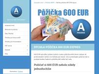 Rýchla pôžička 600 EUR expres