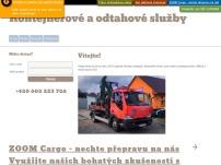 Kontejnerové a odtahové služby – Petr Novák