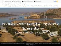 Rio Ebro CAMP EL PASO – Rybolov v Španielsku