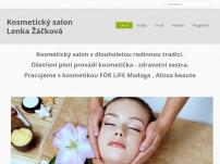 Kosmetický salon Lenka Žáčková