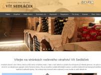 Vinařství Vít Sedláček
