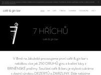 café & gin bar 7 hříchů