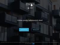 Online predaj a montáž balkónových dverí