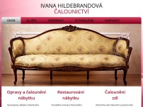 Čalounictví – Ivana Hildebrandová