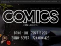 COMICS Pizza & Burgers