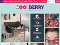 Coolberry.sk - dizajnové doplnky a iné cool vecičky