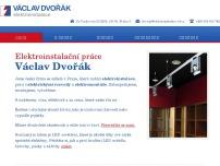 Václav Dvořák – Elektroinstalace