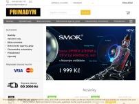 PRIMADYM – elektronické cigarety a příslušenství