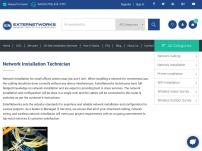 network installation technician