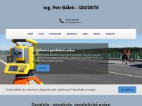 Ing. Petr Bálek – GEODETA