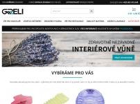 Greli.cz – kancelářské potřeby, vůně