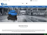 iBob – čistící stroje