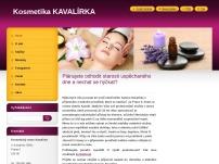 Kosmetický salon Kavalírka