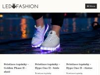 Svietiace topánky - LEDFASHION, kvalitné značkové svietiace topánky