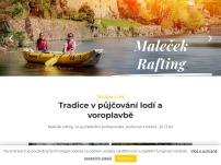 Maleček rafting