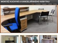 Montáž kuchyní a kancelářského nábytku – Petr Povolný