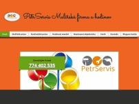 PetrServis – Malířská firma a hodinový manžel