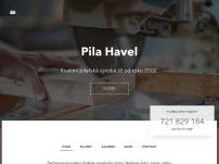 Pilařská výroba – Jiří Havel