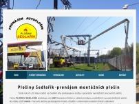 Leo Sedlařík - Vysokozdvižné plošiny